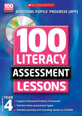 100 Literacy Assessment Lessons: Year 4 (BOK)
