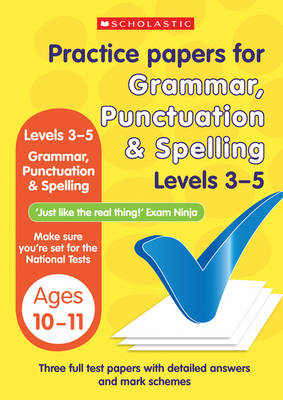 Grammar, Punctuation and Spelling Levels 3-5 (BOK)