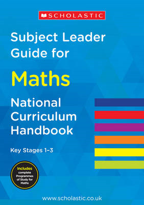 Subject Leader Guide for Maths- Key Stage 1       -3 (BOK)