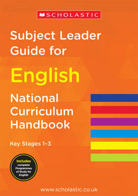 Subject Leader Guide for English - Key Stage 1-3 (BOK)