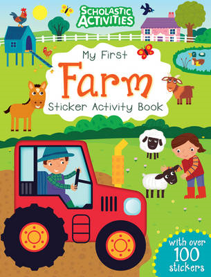 My First Farm Sticker Activity Book (BOK)