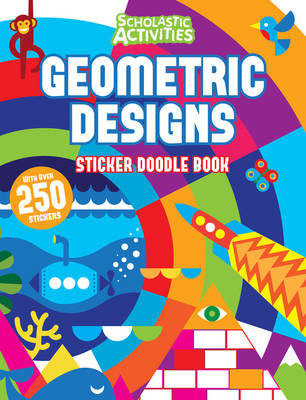 Geometric Designs Sticker Doodle Book (BOK)