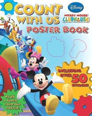 "Disney ""Mickey Mouse Clubhouse"" Counting Poster Book (BOK)"