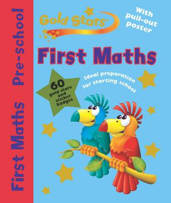 Gold Stars Pre-School Workbook: First Maths (BOK)
