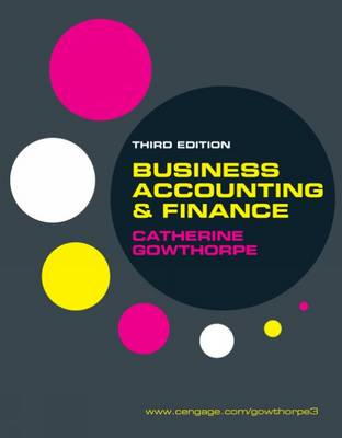 Business Accounting and Finance (BOK)