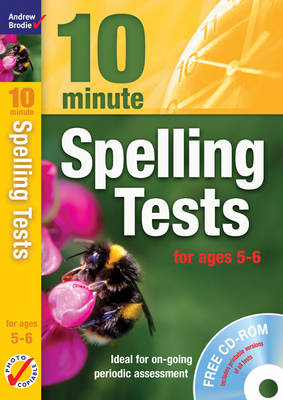 Ten Minute Spelling Tests for Ages 5-6 (BOK)