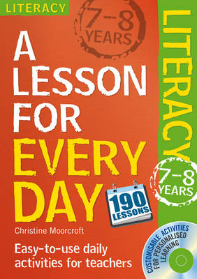Lesson for Every Day: Literacy Ages 7-8 (BOK)