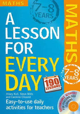 Lesson for Every Day: Maths Ages 7-8: 7-8 years (BOK)