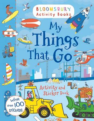 My Things That Go Activity and Sticker Book (BOK)