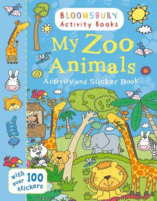 My Zoo Animals Activity and Sticker Book (BOK)