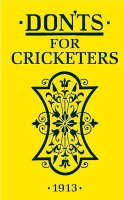 Don'ts for Cricketers (BOK)
