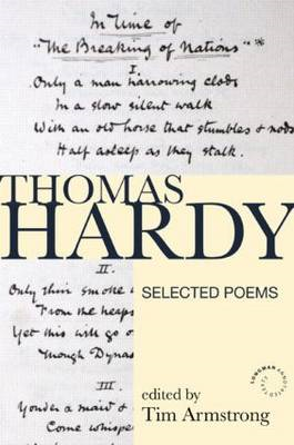 Thomas Hardy: Selected Poems (BOK)