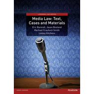 Media Law: Text, Cases and Materials (BOK)