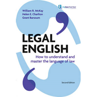 Legal English: How to Understand and Master the Language of Law (BOK)