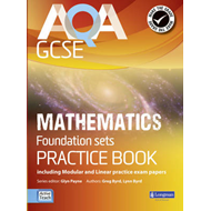 AQA GCSE Mathematics for Foundation sets Practice Book (BOK)