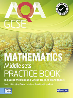 AQA GCSE Mathematics for Middle Sets Practice Book (BOK)