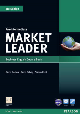 Market Leader Pre-intermediate Coursebook & DVD-rom Pack (BOK)