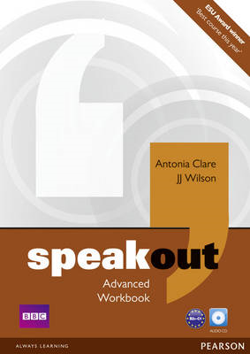Speakout Advanced Workbook No Key and Audio CD Pack (BOK)