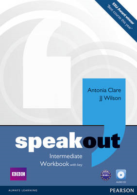 Speakout Intermediate Workbook with Key and Audio CD Pack (BOK)