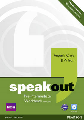 Speakout Pre Intermediate Workbook with Key and Audio CD Pac (BOK)