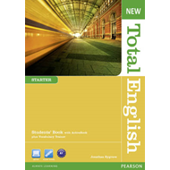 New Total English Starter Students' Book With Active Book Pa (BOK)
