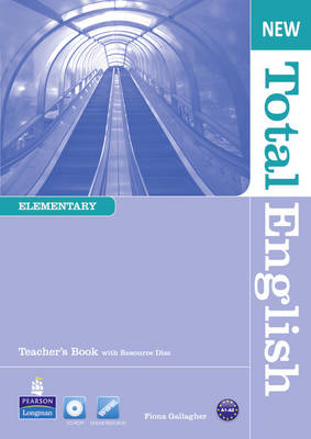 New Total English Elementary Teacher's Book and Teacher's Re (BOK)