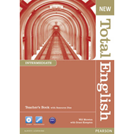 New Total English Intermediate Teacher's Book and Teacher's Resource CD Pack (BOK)