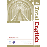 New Total English Intermediate Workbook with Key and Audio C (BOK)