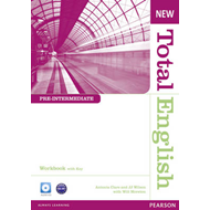 New Total English Pre-Intermediate Workbook with Key and Aud (BOK)