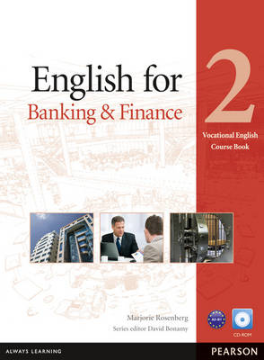 English for Banking & Finance Level 2 Coursebook and CD-ROM Pack (BOK)