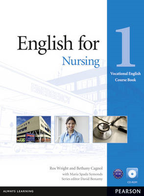 English for Nursing Level 1 Coursebook and CD-ROM Pack (BOK)