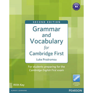 Grammar and Vocabulary for FCE with Key + Access to Longman Dictionaries Online (BOK)