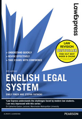 Law Express: English Legal System (revision Guide) (BOK)