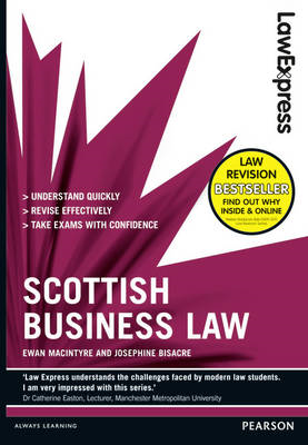 Law Express: Scottish Business Law (Revision guide) (BOK)