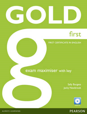 Gold First Maximiser with Key and Audio CD Pack (BOK)
