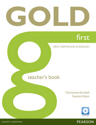 Gold First Teacher's Book with Test Master CD-ROM Pack (BOK)