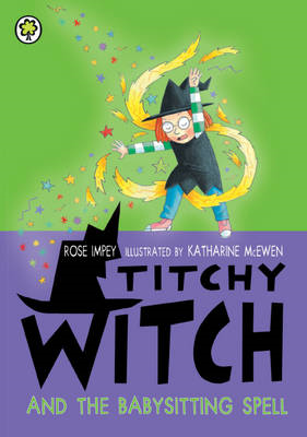 Titchy Witch and the Babysitting Spell (BOK)