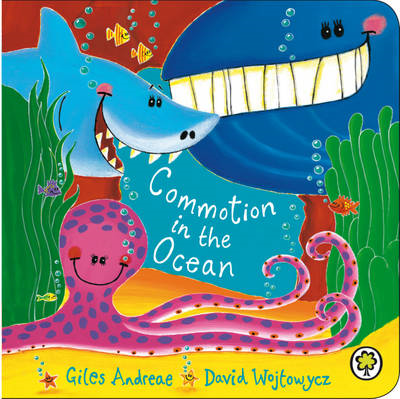 Commotion In The Ocean Board Book (BOK)