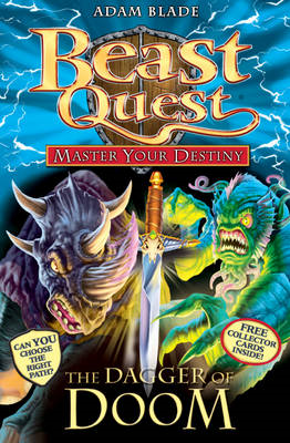 Beast Quest: Master Your Destiny: The Dagger of Doom (BOK)