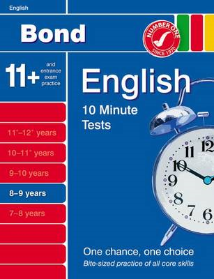 Bond 10 Minute Tests English 8-9 Years