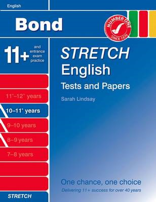 Bond Stretch English Tests and Papers 10-11+ Years