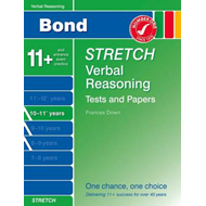 Bond Stretch Verbal Reasoning Tests and Papers 10-11+ Years (BOK)