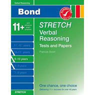 Bond Stretch Verbal Reasoning Tests and Papers 9-10 Years (BOK)