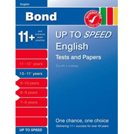 Bond Up to Speed English Tests and Papers 10-11+ Years (BOK)