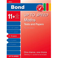 Bond Up to Speed Maths Tests and Papers 9-10 Years (BOK)