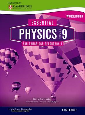 Essential Physics for Cambridge Secondary 1 Stage 9 Workbook (BOK)