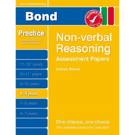 Bond Assessment Papers Non-Verbal Reasoning 8-9 Yrs (BOK)