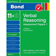 Bond Assessment Papers Verbal Reasoning 9-10 Yrs Book 1 (BOK)
