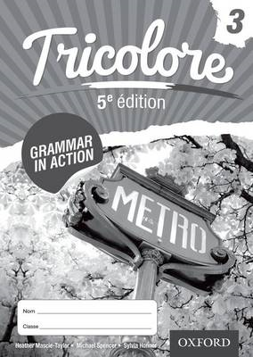 Tricolore 5e edition Grammar in Action Workbook 3 (8 pack) (BOK)