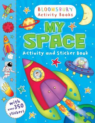 My Space Activity and Sticker Book (BOK)